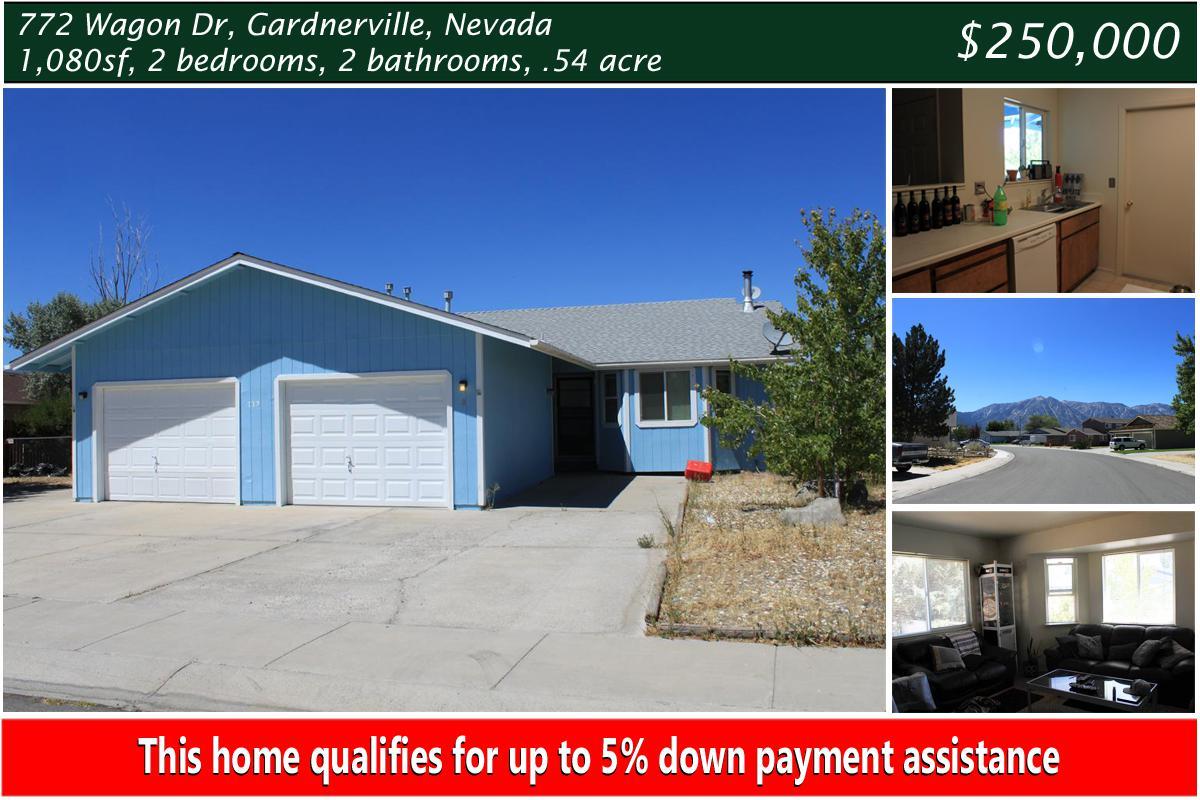 772 Wagon Gardnerville NV | Bradway Properties | 775-461-0081